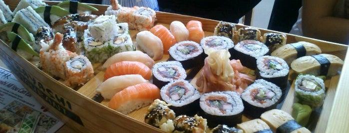 Bambuszliget Japán Étterem & Sushi Bár is one of 1.
