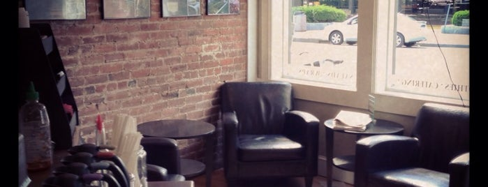 Fazenda Coffee Roasters is one of jamaica plain.