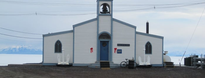 Chapel of the Snows is one of Antarctica.