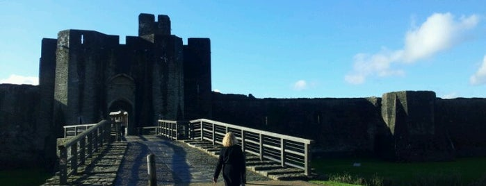 Caerphilly Castle is one of Doctor Who and Sherlock - Cardiff Locations.