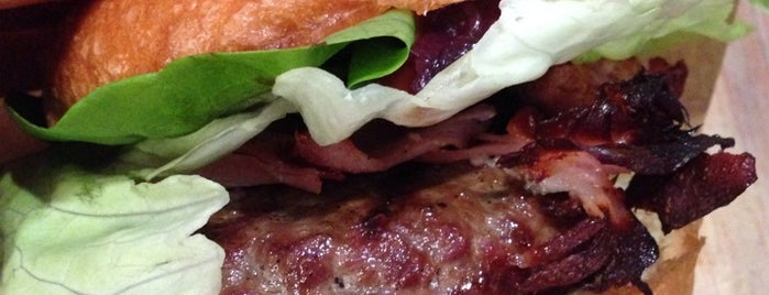 Ham Holy Burger is one of Hamburger. La classifica definitiva di Milano.