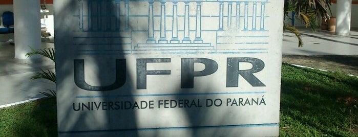 UFPR Litoral - Universidade Federal do Paraná is one of Pontos de carona.