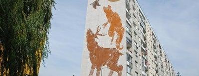 Joanna Skiba, Monumental Art 2011 is one of Murale Gdańsk Zaspa.
