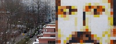 Piotr Szwabe vel Pisz, 2008 is one of Murale Gdańsk Zaspa.