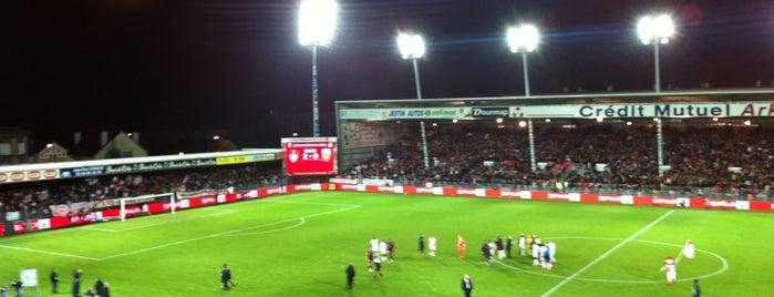 Stade Francis Le Blé is one of Stades de Ligue 1.