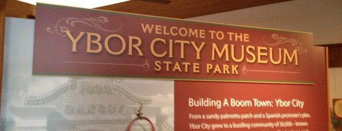 Ybor City Museum State Park is one of places i want to go.
