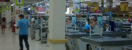 Carrefour is one of locais.