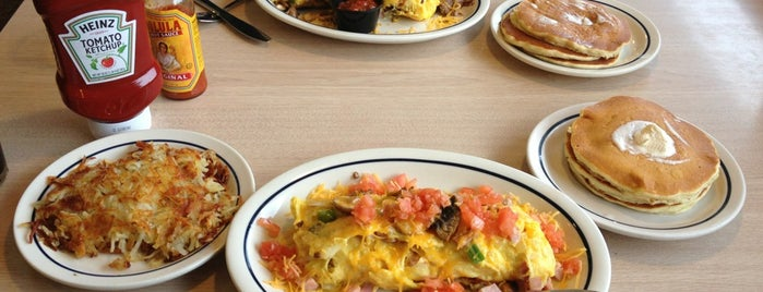 IHOP is one of Places I Like : ).