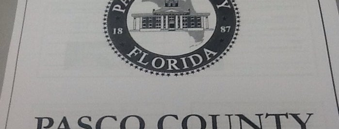 Pasco County Government Center is one of Unique.