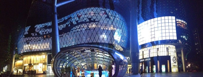 ION Orchard is one of ?8.