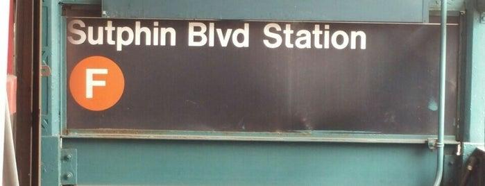 MTA Subway - Sutphin Blvd (F) is one of MTA Subway - F Line.