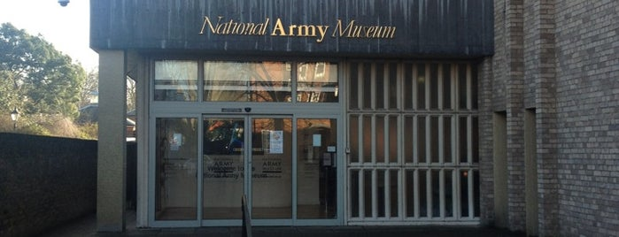 National Army Museum is one of Free museums.