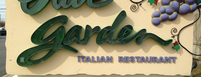 Olive Garden is one of been here.