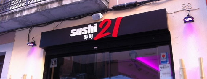 Sushi21 is one of The Gin Route.
