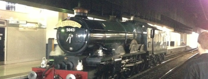 Birmingham Snow Hill Railway Station (BSW) is one of Howard's tips.