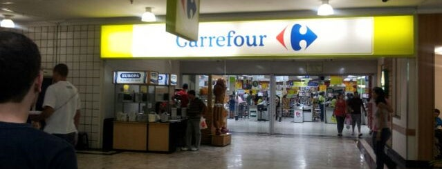 Carrefour is one of Supermarket.