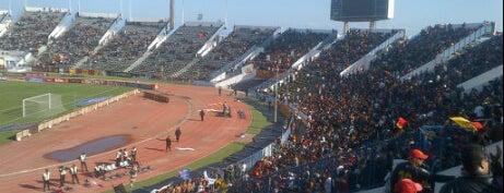 The Olympic Stadium El Menzah | Stade Olympique d'El Menzah | الملعب الأولمبي بالمنزه is one of Tunis City Badge - Bab el Bahr.