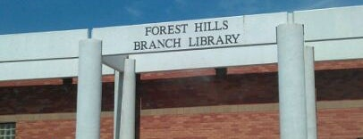 Forest Hills Library is one of Ya es hora-Libera Tu Voz.