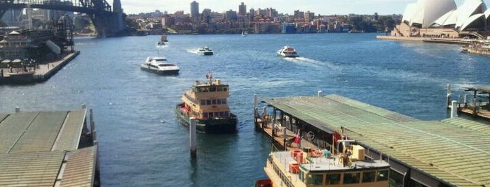 Circular Quay Ferry Terminal is one of Essential Sydney.