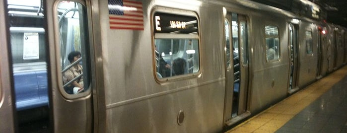 "MTA Subway - 14th St (A/C/E/L) is one of ""Be Robin Hood #121212 Concert"" @ New York!."