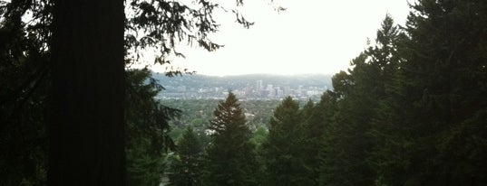 Mt. Tabor Park is one of Portland City Badge - Bridgetown.