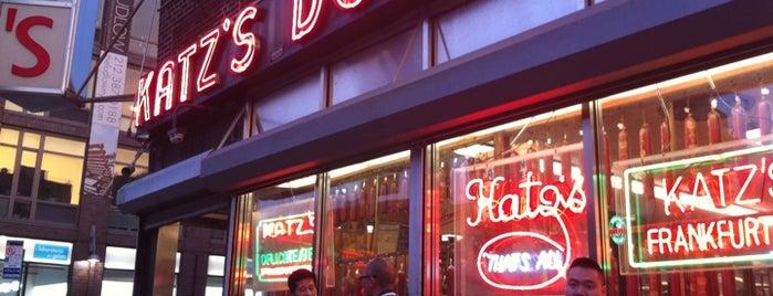 "Katz's Delicatessen is one of ""Dream Sandwiches"" List."