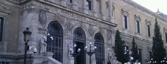 Biblioteca Nacional de España is one of Conoce Madrid.