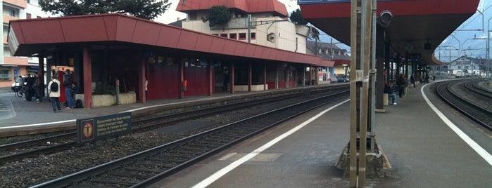 Bahnhof Schwyz is one of Bahnhöfe Top 200 Schweiz.