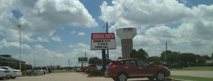 Braum's is one of Favorite Food.