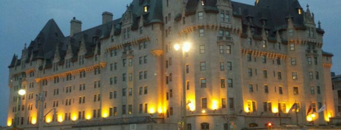 Fairmont Château Laurier is one of Canada Favorites.