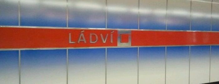 Metro =C= Ládví is one of Metro C.