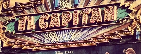 El Capitan Theatre is one of Invitation to go to the Movies.