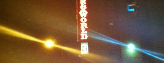 Sex World is one of main street.