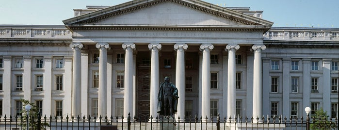 US Department of the Treasury is one of Want to visit.
