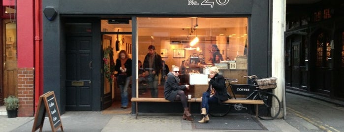 TAP Coffee is one of 100+ Independent London Coffee Shops.