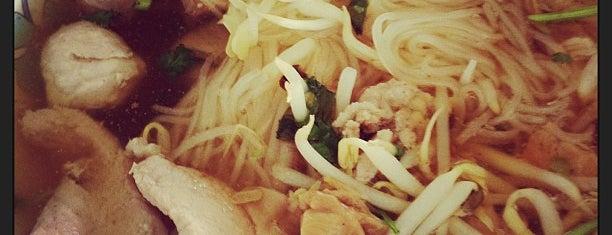 ก๋วยเตี๋ยวหมูพริกกระเหรี่ยง is one of Enjoy eating ;).