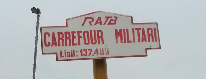 RATB Carrefour Militari (137) is one of Statii autobuz.