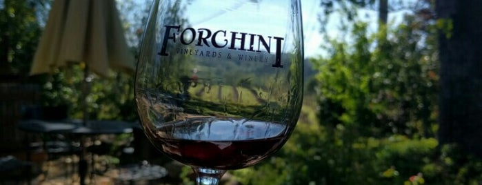 Forchini Vineyards & Winery is one of Wine Road Picnicking- al Fresco Perfetto!.