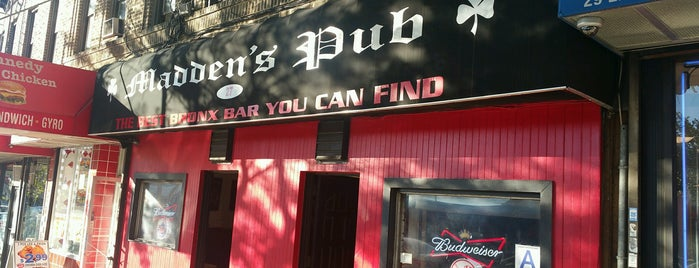 Madden's Pub is one of Favs.