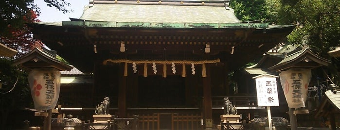 五條天神社 is one of 行った所&行きたい所&行く所.