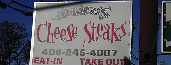 Amato's Cheesesteaks is one of Cheese Steak Spots in the South Bay.