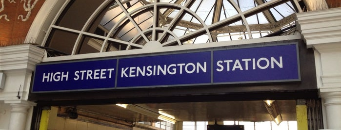 High Street Kensington - London Underground Station is one of Zone 1 Tube Challenge.