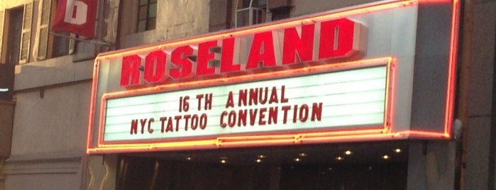 Roseland Ballroom is one of Concerts.
