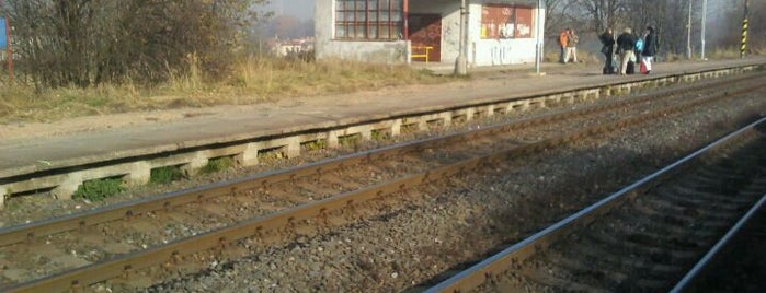 Železniční zastávka Havířov-Suchá is one of Linka S1/R1 ODIS Opava východ - Český Těšín.