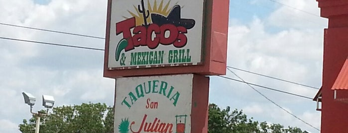 Taqueria San Julian / Tacos San Pedro is one of OKC List.