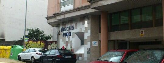 Discus Vigo is one of Mis favoritos de Vigo.