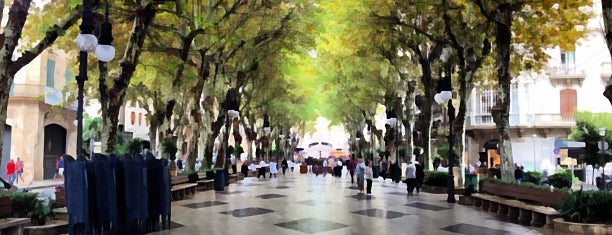 Passeig des Born is one of 36 hours in...Palma.