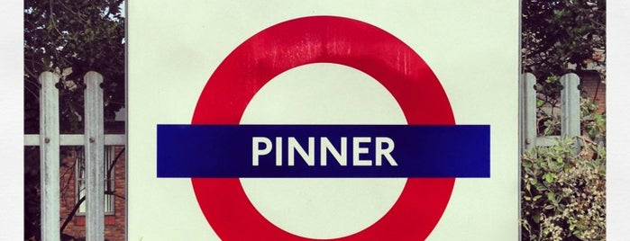 Pinner London Underground Station is one of Tube Challenge.