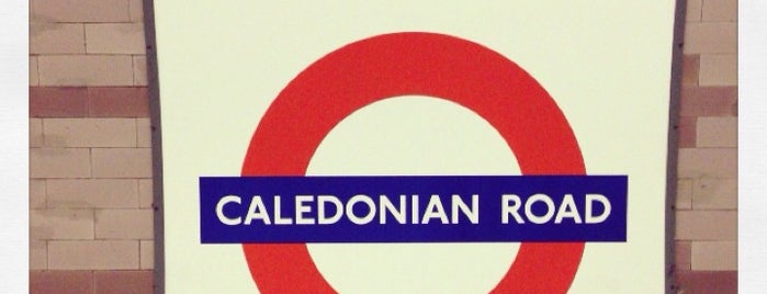 Caledonian Road London Underground Station is one of Tube Challenge.