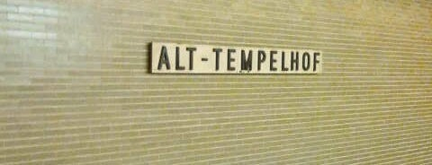 U Alt-Tempelhof is one of U-Bahn Berlin.